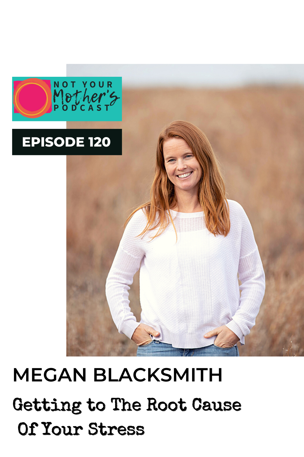 Ep. 120: Getting to The Root Cause Of Your Stress with Megan Blacksmith PIN