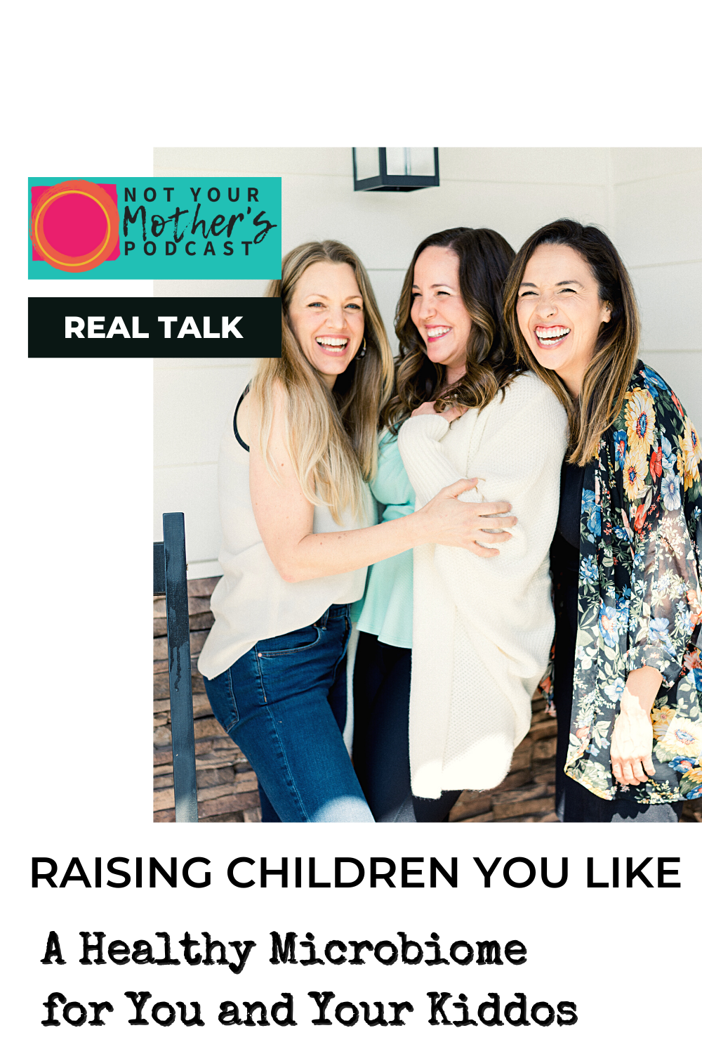 Real Talk with Raising Children You Like: Anxiety Solutions for Parenting The Second Child PIN
